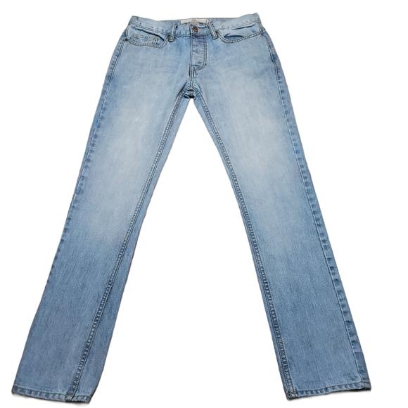 Topman Skinny Button Fly Jeans Sz 30/32